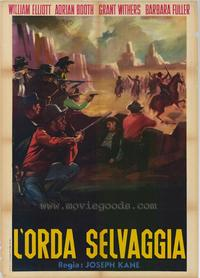 The Savage Horde - 27 x 40 Movie Poster - Style A