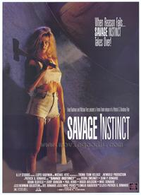 Savage Instinct - 43 x 62 Movie Poster - Bus Shelter Style A
