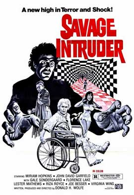 Savage Intruder - 11 x 17 Movie Poster - Style A