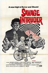 Savage Intruder - 27 x 40 Movie Poster - Style A