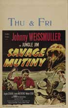 Savage Mutiny - 11 x 17 Movie Poster - Style A