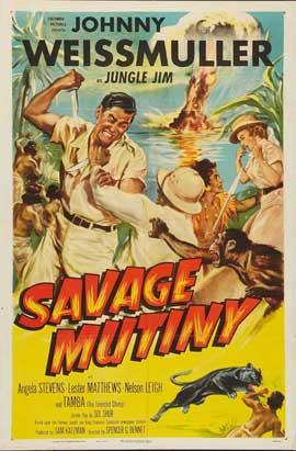 Savage Mutiny - 27 x 40 Movie Poster - Style B