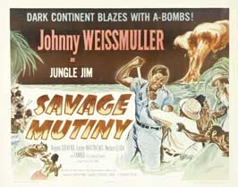 Savage Mutiny - 22 x 28 Movie Poster - Half Sheet Style A