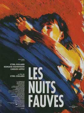 Savage Nights - 11 x 17 Movie Poster - French Style A
