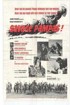 Savage Pampas - 11 x 17 Movie Poster - Style A