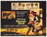 Savage Sam - 22 x 28 Movie Poster - Half Sheet Style A