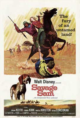 Savage Sam - 27 x 40 Movie Poster - Style A