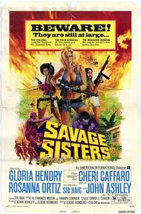 Savage Sisters - 43 x 62 Movie Poster - Bus Shelter Style A