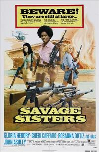 Savage Sisters - 43 x 62 Movie Poster - Bus Shelter Style B