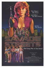 Savage Streets - 11 x 17 Movie Poster - Style A