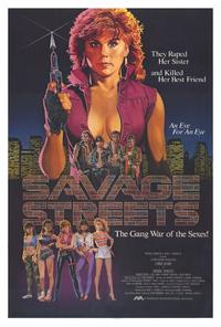 Savage Streets - 27 x 40 Movie Poster - Style A
