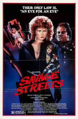 Savage Streets - 27 x 40 Movie Poster - Style B