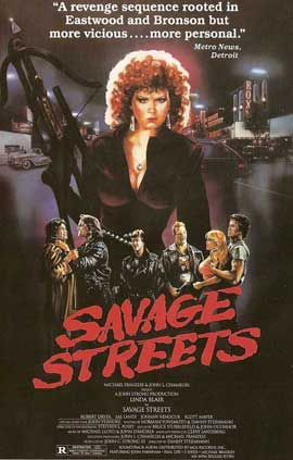 Savage Streets - 11 x 17 Movie Poster - Style C