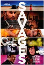 Savages - DS 1 Sheet Movie Poster - Style A