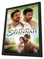 Savannah - 27 x 40 Movie Poster - Style A - in Deluxe Wood Frame