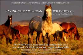 Save the American Wild Horse - 27 x 40 Movie Poster - Style A