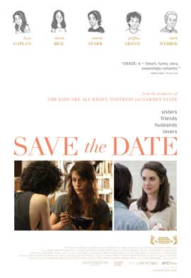 Save the Date - 11 x 17 Movie Poster - Style A