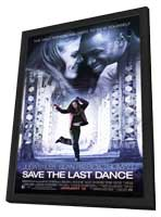 Save the Last Dance - 11 x 17 Movie Poster - Style A - in Deluxe Wood Frame