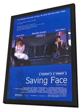 Saving Face - 11 x 17 Movie Poster - Style A - in Deluxe Wood Frame