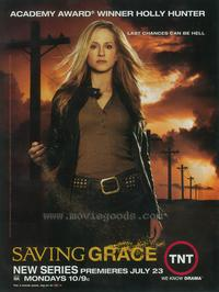 Saving Grace - 11 x 17 TV Poster - Style A