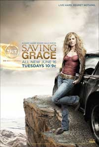 Saving Grace - 11 x 17 TV Poster - Style Q