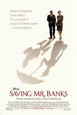 Saving Mr. Banks - DS 1 Sheet Movie Poster - Style A