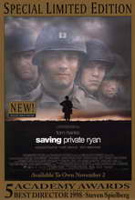 Saving Private Ryan - 11 x 17 Movie Poster - Style D