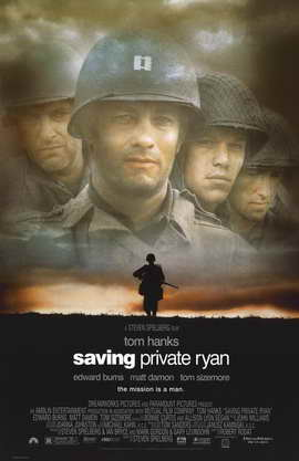 Saving Private Ryan - 11 x 17 Movie Poster - Style A