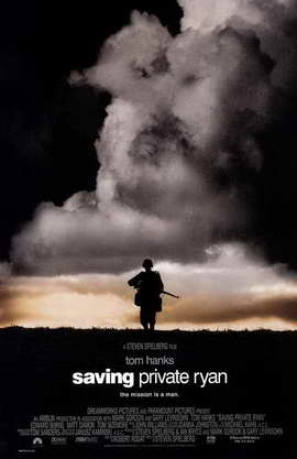 Saving Private Ryan - 11 x 17 Movie Poster - Style B