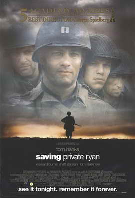 Saving Private Ryan - 11 x 17 Movie Poster - Style E