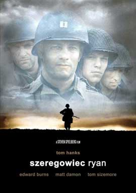 Saving Private Ryan - 11 x 17 Movie Poster - Polish Style A