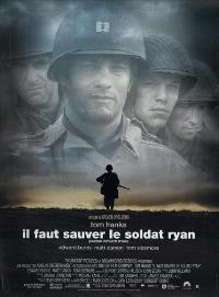 Saving Private Ryan - 11 x 17 Movie Poster - French Style A