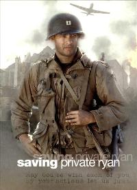 Saving Private Ryan - 27 x 40 Movie Poster - Style E