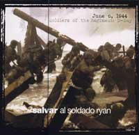 Saving Private Ryan - 30 x 30 Movie Poster - Spanish Syle A