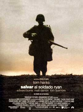 Saving Private Ryan - 11 x 17 Movie Poster - Spanish Style B