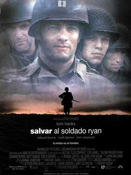 Saving Private Ryan - 27 x 40 Movie Poster - Spanish Style B