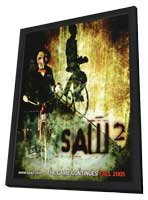 Saw 2 - 11 x 17 Movie Poster - Style B - in Deluxe Wood Frame