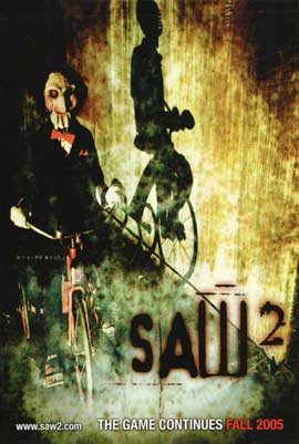Saw 2 - 11 x 17 Movie Poster - Style B