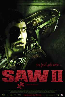 Saw 2 - 27 x 40 Movie Poster - German Style A