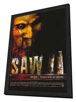 Saw 2 - 27 x 40 Movie Poster - Style A - in Deluxe Wood Frame