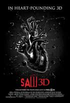 Saw 3D - 11 x 17 Movie Poster - Style B