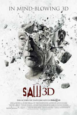 Saw 3D - DS 1 Sheet Movie Poster - Style A