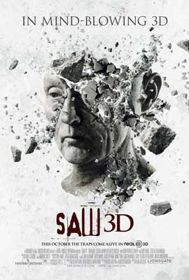 Saw 3D - 11 x 17 Movie Poster - Spanish Style D