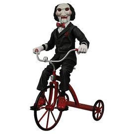 Saw - Saw Billy the Puppet with Tricycle 12-Inch Talking Figure