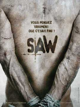 Saw V - 11 x 17 Movie Poster - French Style A