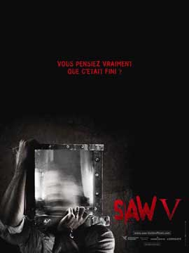Saw V - 11 x 17 Movie Poster - French Style C