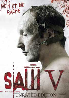 Saw V - 11 x 17 Movie Poster - German Style B