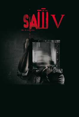 Saw V - 43 x 62 Movie Poster - Bus Shelter Style E