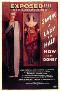 Sawing a Lady in Half - 11 x 17 Movie Poster - Style A