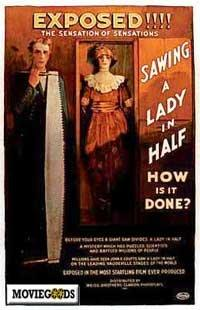 Sawing a Lady in Half - 43 x 62 Movie Poster - Bus Shelter Style A